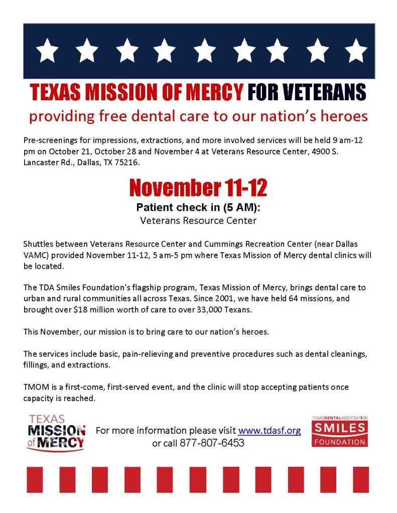 free-dental-care-for-vets